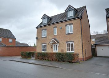 Thumbnail 4 bed detached house for sale in Grouse Way, Heath Hayes, Cannock