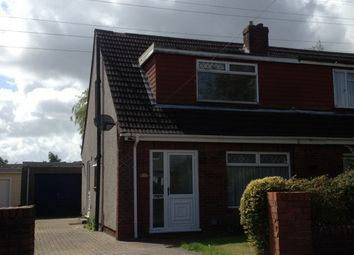 Thumbnail 3 bed semi-detached house to rent in Blaencoed Road, Llansamlet, Swansea