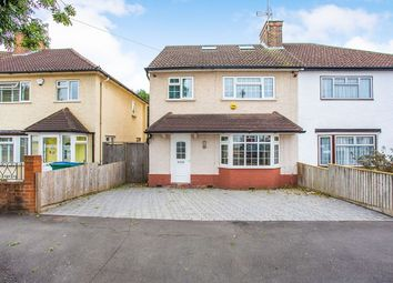 Thumbnail 4 bed semi-detached house to rent in Chilcott Road, Watford