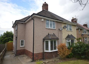 Thumbnail 3 bed semi-detached house for sale in Brimington Rd, Chesterfield, Derbyshire