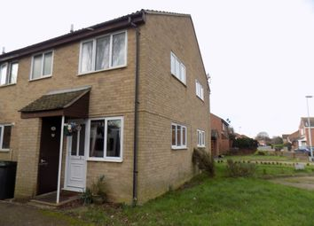 Thumbnail 1 bed semi-detached house for sale in Wymondham, Norfolk