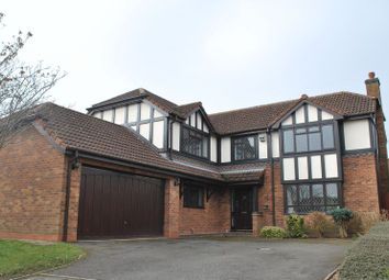 Thumbnail 4 bedroom detached house to rent in Hertford Close, Wellington, Telford