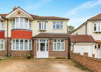 Thumbnail 4 bed semi-detached house for sale in Burnham Drive, Worcester Park