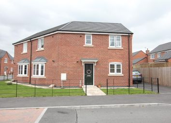 Thumbnail 3 bed semi-detached house for sale in Star Cottages, Private Road, Stoney Stanton, Leicester
