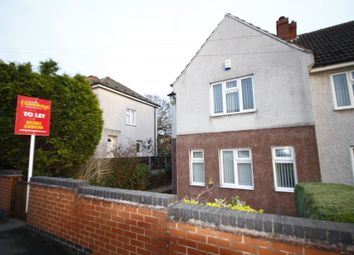 Thumbnail 2 bedroom property to rent in Poplar Avenue, Midway, Swadlincote, Derbyshire