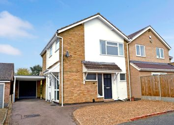 Thumbnail 3 bed semi-detached house for sale in Brambling Way, Oadby, Leicester