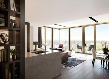 Thumbnail 2 bed flat for sale in One Park Drive, Canary Wharf