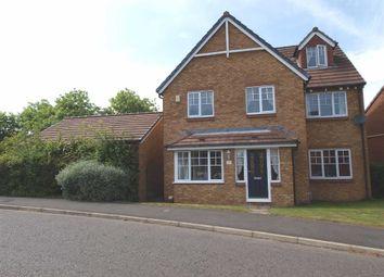 Thumbnail 5 bedroom detached house for sale in Glazebury Way, Cramlington