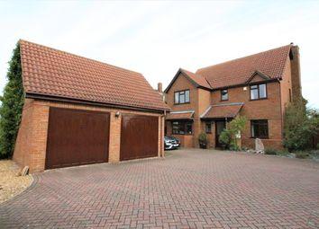 Thumbnail 5 bed detached house for sale in High Road, Cotton End, Bedford
