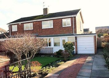 Thumbnail 3 bed semi-detached house for sale in Carr House Drive, Durham