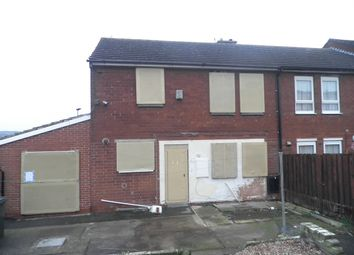 Thumbnail 4 bed end terrace house for sale in Elland Close, New Lodge, Barnsley
