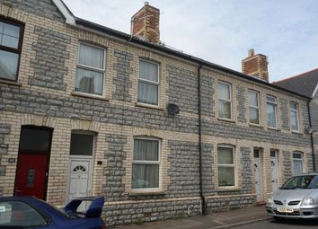 Thumbnail 3 bedroom terraced house to rent in Merthyr Street, Barry