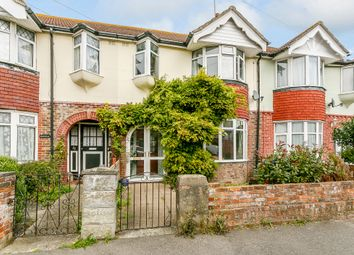 Thumbnail 3 bed terraced house for sale in Alverstone Road, Broadwater, Worthing