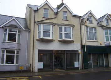 Thumbnail Retail premises for sale in West Street, Fishguard, Pembrokeshire