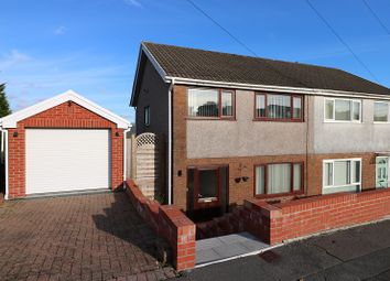 Thumbnail 3 bed semi-detached house for sale in Brayley Road, Morriston, Swansea, City And County Of Swansea.