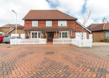 Thumbnail 3 bed detached house for sale in Osprey Court, Hawkinge, Folkestone