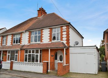 Thumbnail 3 bed semi-detached house for sale in Enborne Grove, Newbury