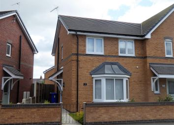 Thumbnail 3 bed semi-detached house for sale in Brunel Court, Wrexham