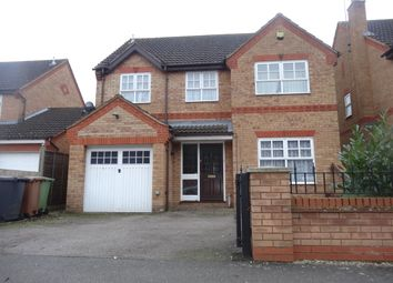 Thumbnail 4 bedroom detached house to rent in Jersey Close, Wellingborough