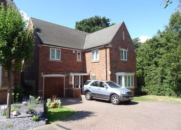 Thumbnail 4 bed detached house for sale in Paradise Close, Shepshed, Leicestershire