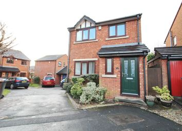 Thumbnail 3 bed detached house to rent in Croftleigh Close, Whitefield, Manchester