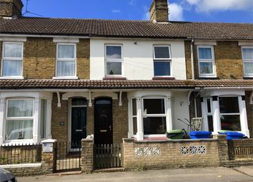 Thumbnail 3 bed terraced house to rent in Connaught Road, Sittingbourne, Kent
