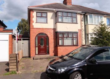 Thumbnail 3 bed semi-detached house to rent in Hill Rise, Birstall, Leicester