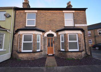 Thumbnail 3 bedroom end terrace house for sale in Beaconsfield Road, Lowestoft