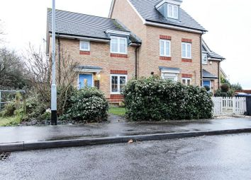 Thumbnail 3 bed end terrace house for sale in Avocet Grove, Soham, Ely