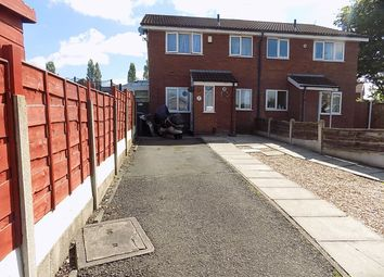 Thumbnail 1 bed terraced house for sale in Muirfield Close, Fearnhead, Warrington