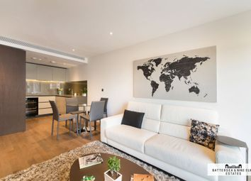 Thumbnail 2 bed flat to rent in Riverlight Quay, London