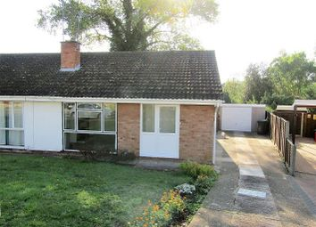 Thumbnail 2 bed semi-detached bungalow to rent in Leabank Drive, Worcester