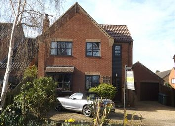 Thumbnail 4 bedroom detached house for sale in Rectory Road, Hollesley, Woodbridge, Suffolk