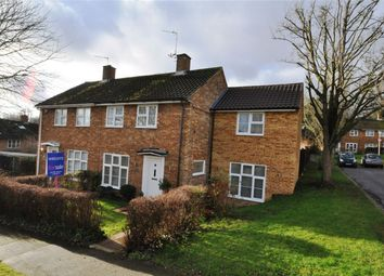 Thumbnail 4 bedroom semi-detached house for sale in Great Dell, Welwyn Garden City, Hertfordshire