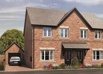 Thumbnail 3 bed semi-detached house for sale in The Holmewood, Oakbrook, Chelmsley Lane, Marston Green