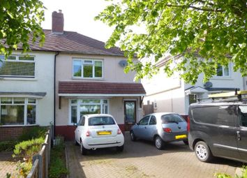 Thumbnail 3 bed semi-detached house for sale in Chestall Road, Rugeley