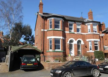 Thumbnail 3 bed semi-detached house for sale in Ryelands Street, Hereford, Herefordshire