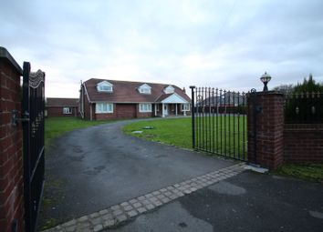 Thumbnail 6 bed detached bungalow for sale in Division Lane, Blackpool, Lancashire