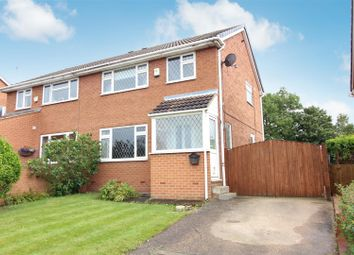Thumbnail 3 bed semi-detached house for sale in Keble Garth, Kippax, Leeds