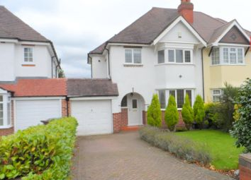 Thumbnail 3 bed semi-detached house to rent in Marsham Court Road, Solihull