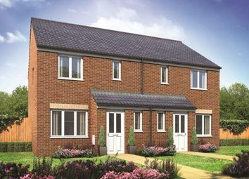 Thumbnail 3 bed semi-detached house for sale in Plot 66 Hanbury, Hampton Gardens, Hampton, Peterborough