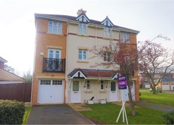 Thumbnail 4 bed semi-detached house for sale in Wainwright Close, Colwyn Bay