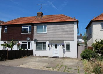 Thumbnail 3 bed semi-detached house for sale in Belle Vue Road, Aldershot