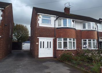Thumbnail 3 bed semi-detached house to rent in The Fairway, Stockport