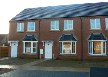 Thumbnail 3 bed terraced house to rent in Rookery Park, Lincoln, Lincolnshire.