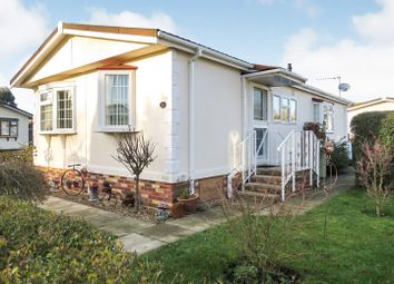 Thumbnail 2 bedroom mobile/park home for sale in Station Road, Snettisham, King's Lynn