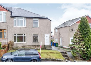 Thumbnail 3 bed flat for sale in Montford Avenue, Glasgow