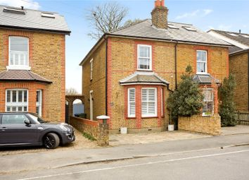 Thumbnail 2 bed semi-detached house for sale in Albany Road, Hersham, Walton-On-Thames, Surrey