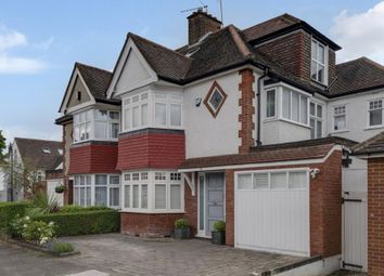 Thumbnail 5 bed semi-detached house for sale in Templars Crescent, Finchley Central, London