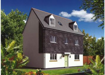 Thumbnail 4 bed detached house for sale in Taw View Development, Bickington, Barnstaple